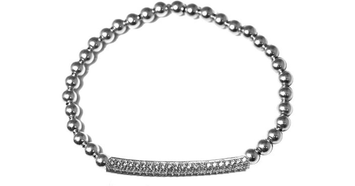 Lyst Mali Beads Makayla 14kt Gold Filled Beaded Bracelet 925
