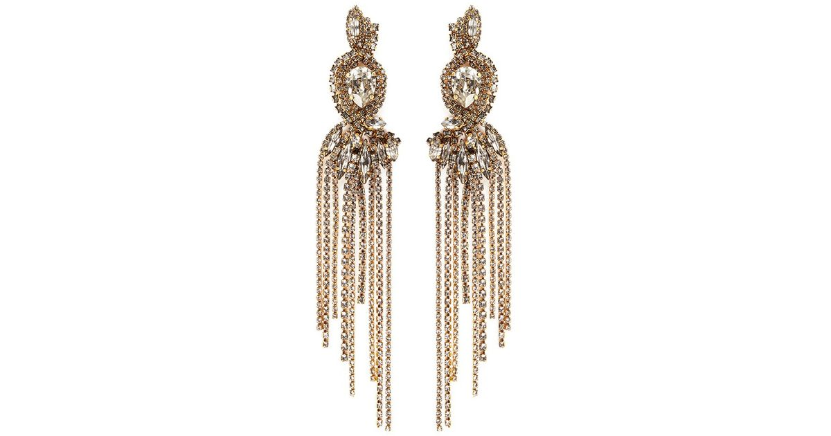 China Club Pearl And Crystal Earrings Erickson Beamon kd4baivzd