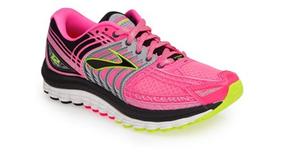 eae7878db2805 Lyst - Brooks  glycerin 12  Running Shoe in Pink