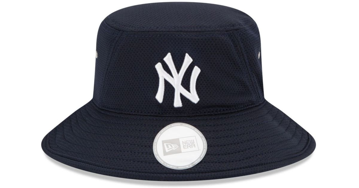 Lyst - KTZ New York Yankees Team Redux Bucket Hat in Blue for Men 8702dce31f8