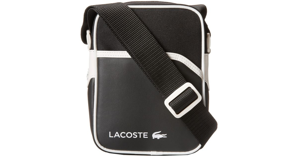 bd0d5f876c4e2 Lacoste Ultimum Small Vertical Camera Bag in Black for Men - Lyst