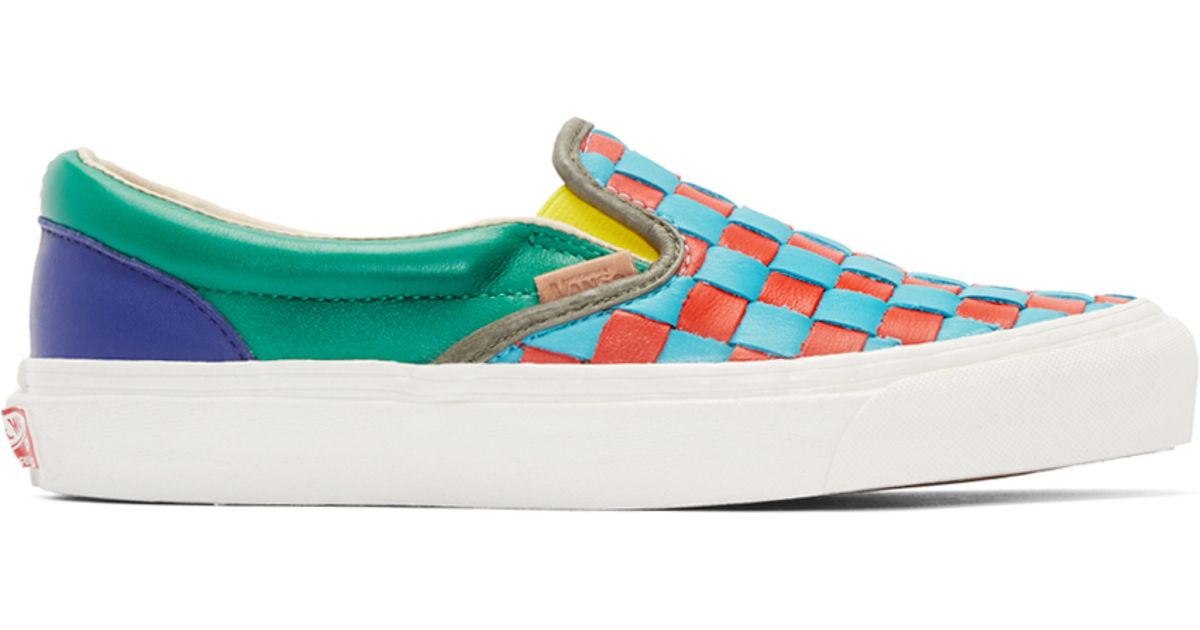 Lyst - Vans Multicolor 50th Og Classic Slip-on Lx Sneakers for Men d62df9834