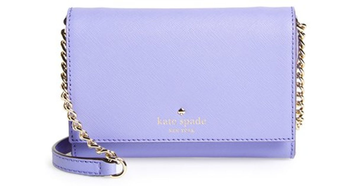 c41b33d6c Kate Spade 'Cedar Street - Cami' Crossbody Bag - Purple in Purple - Lyst