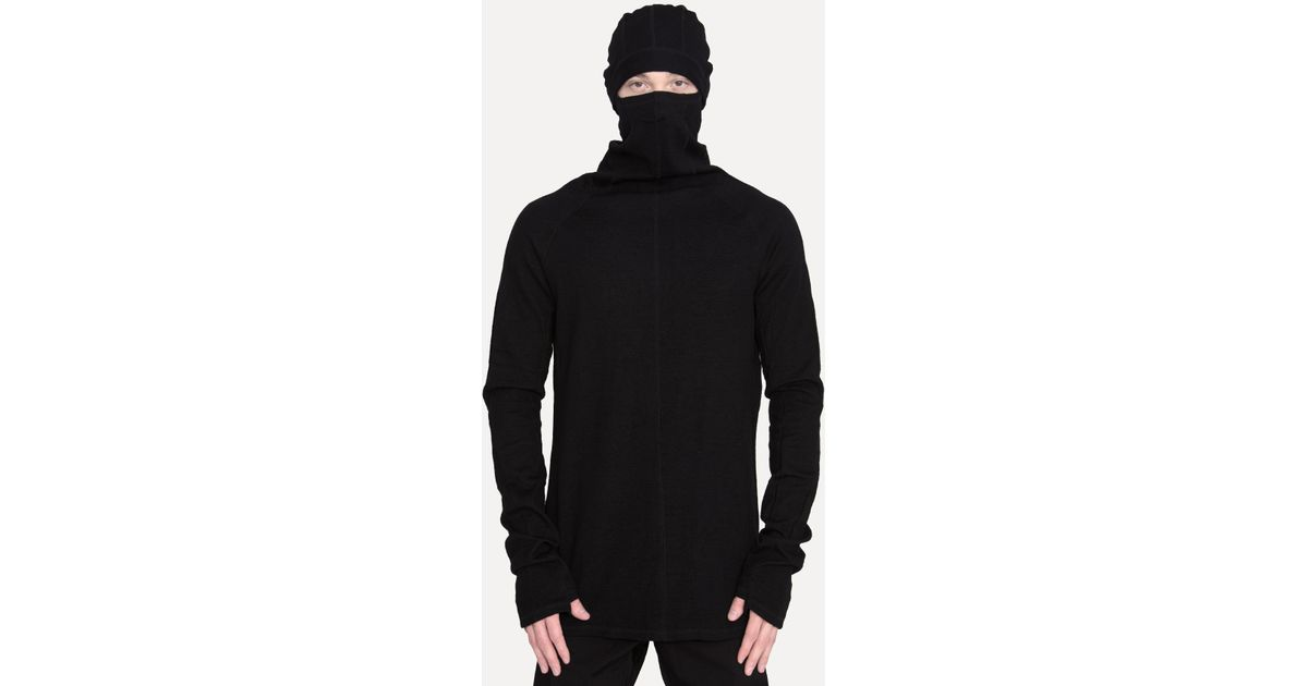 c570caa3138 Lyst - The Viridi-anne Ninja Hoodie in Black for Men