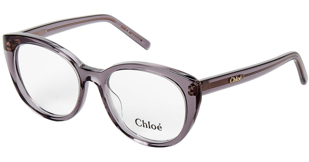 Lyst - Chloé Ce2670 Cat Eye Optical Frames in Gray