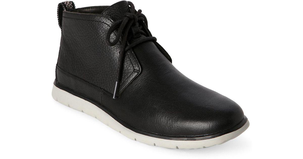 7bc31ba0d61 Ugg - Black Freamon Chukka Boots for Men - Lyst