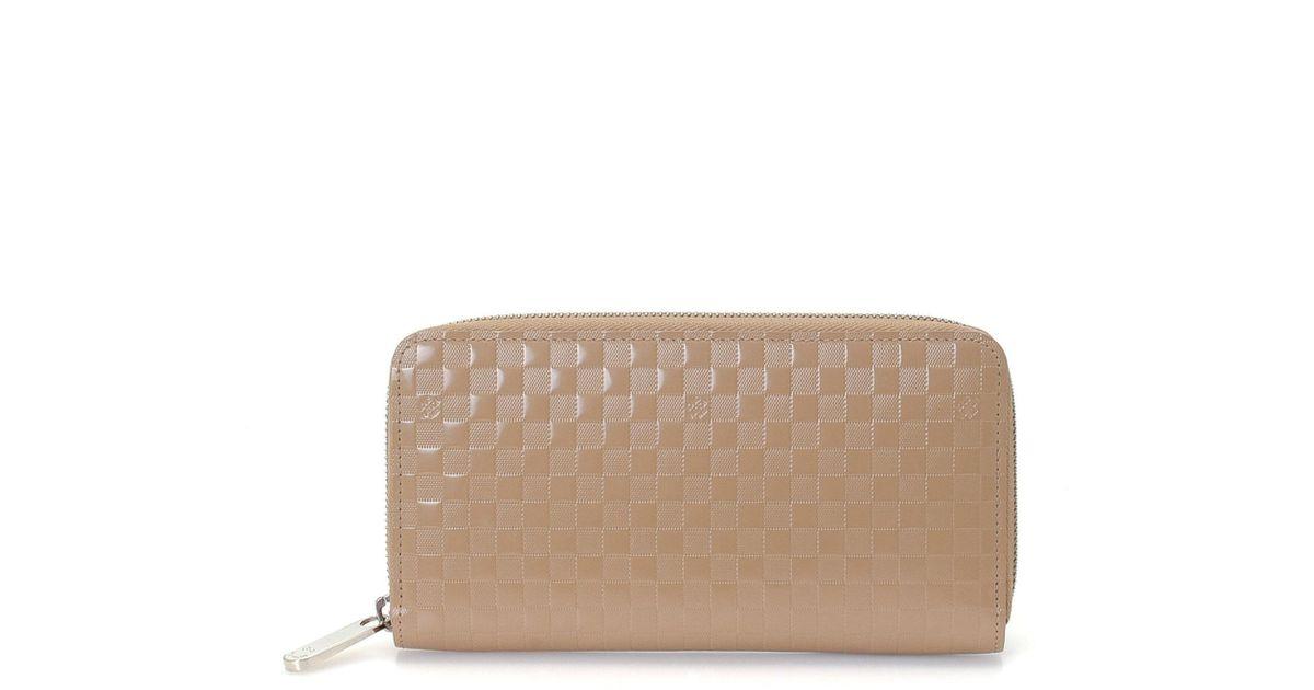 823f61f07191 Lyst - Louis Vuitton Damier Facette Zippy Wallet - Vintage