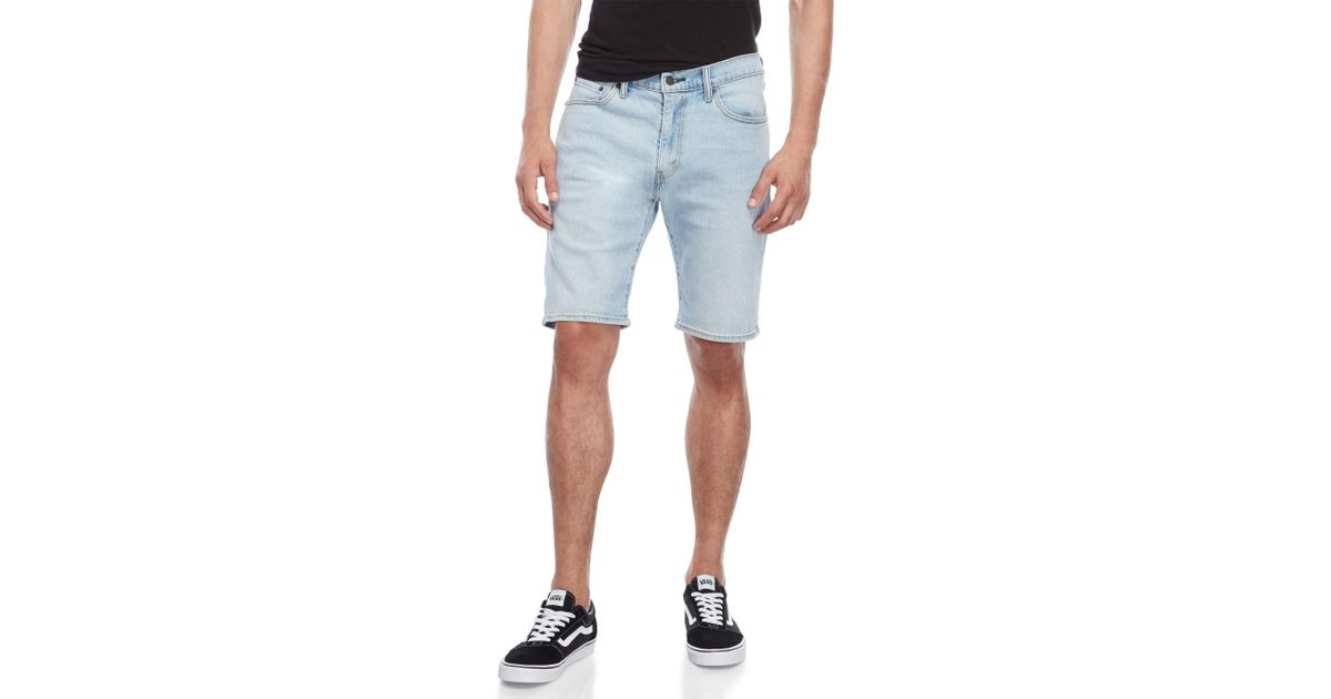 1f5fbd94e776 Levi's 505 Regular Fit Denim Shorts in Blue for Men - Lyst