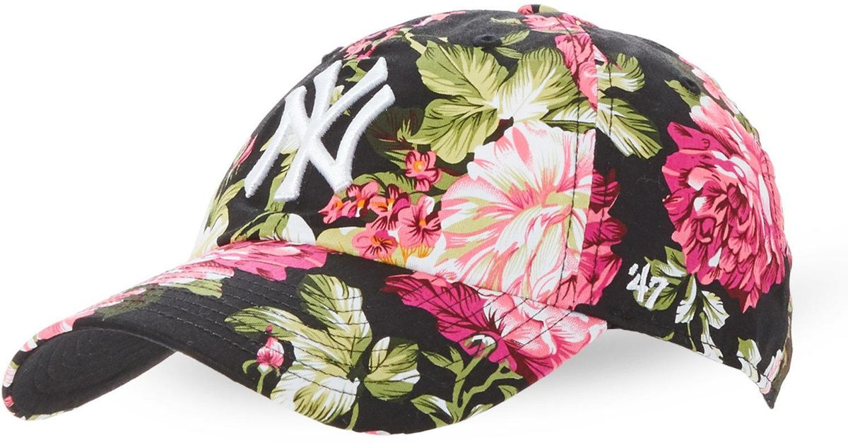 c814574ed2453 47 Brand Floral Rosalyn New York Yankees Cap - Lyst