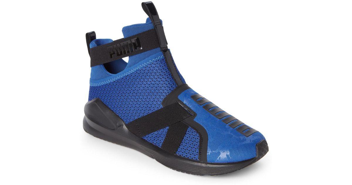 bd1880f16c8194 Lyst - PUMA True Blue   Black Fierce Core Training Sneakers in Blue for Men
