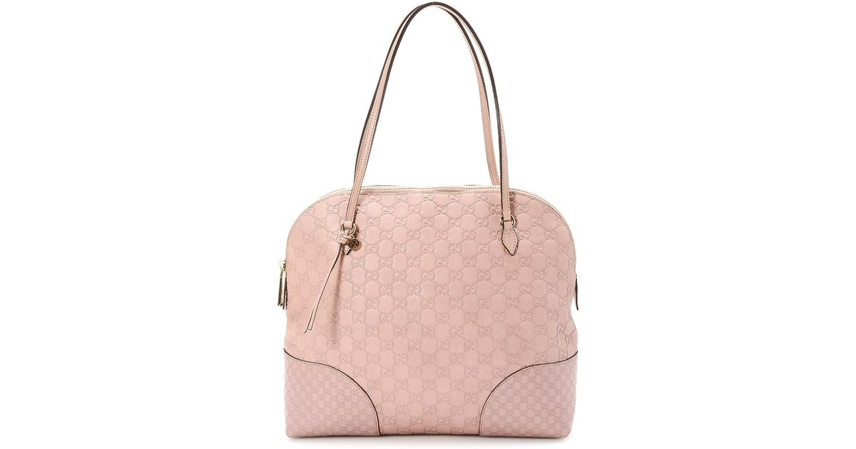 fcab76340be6e5 Gucci Bree Shoulder Bag - Vintage in Pink - Lyst