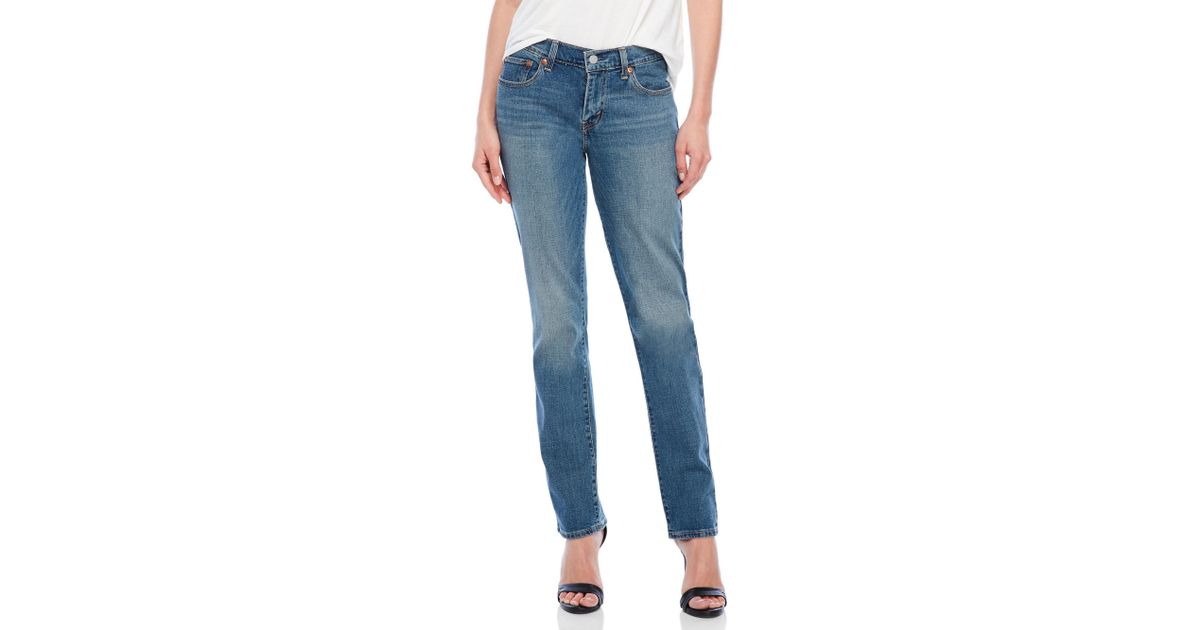 03eace6ecc5 Lyst - Levi S 414 Relaxed Straight Jeans in Blue