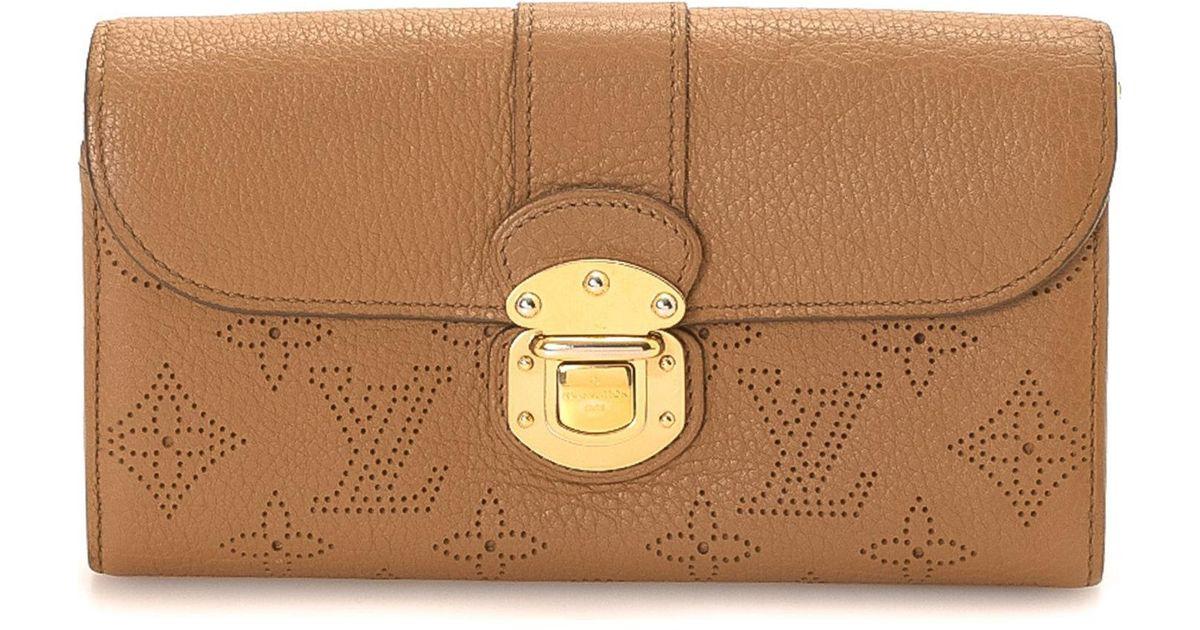 1802f17f0d8a Lyst - Louis Vuitton Wallet - Vintage in Brown