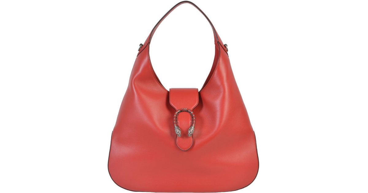 777ca26409410f Lyst - Gucci Dionysus Hobo Bag in Red