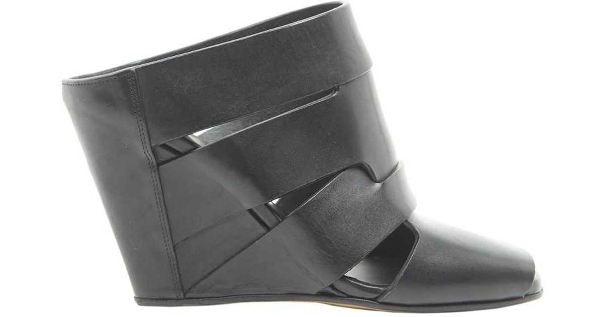 af602e3846 Lyst - Rick Owens Lazarus Wedges in Black - Save 28%