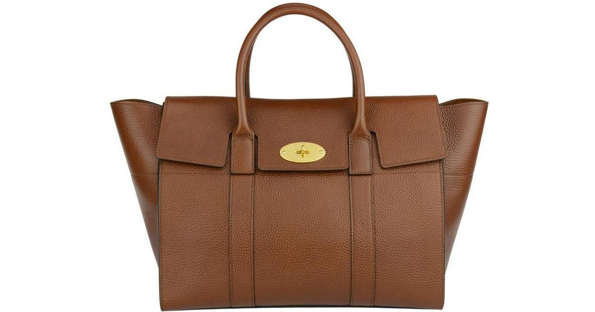 d47dcd21639 Mulberry Flap Cover Tote Bag in Brown - Lyst