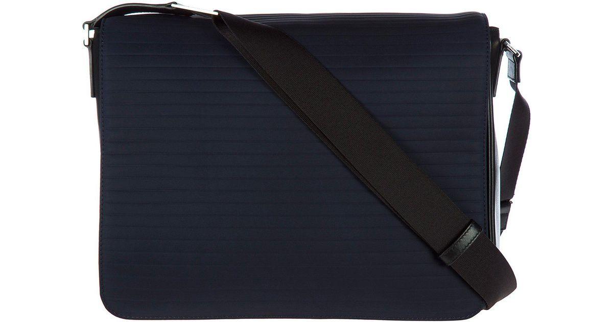 f0d06d567c Dior Homme Crossbody Messenger Bag in Blue for Men - Lyst