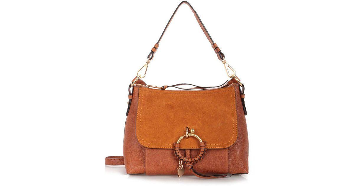 619b1d455af5 See By Chloé Joanna Shoulder Bag in Brown - Lyst