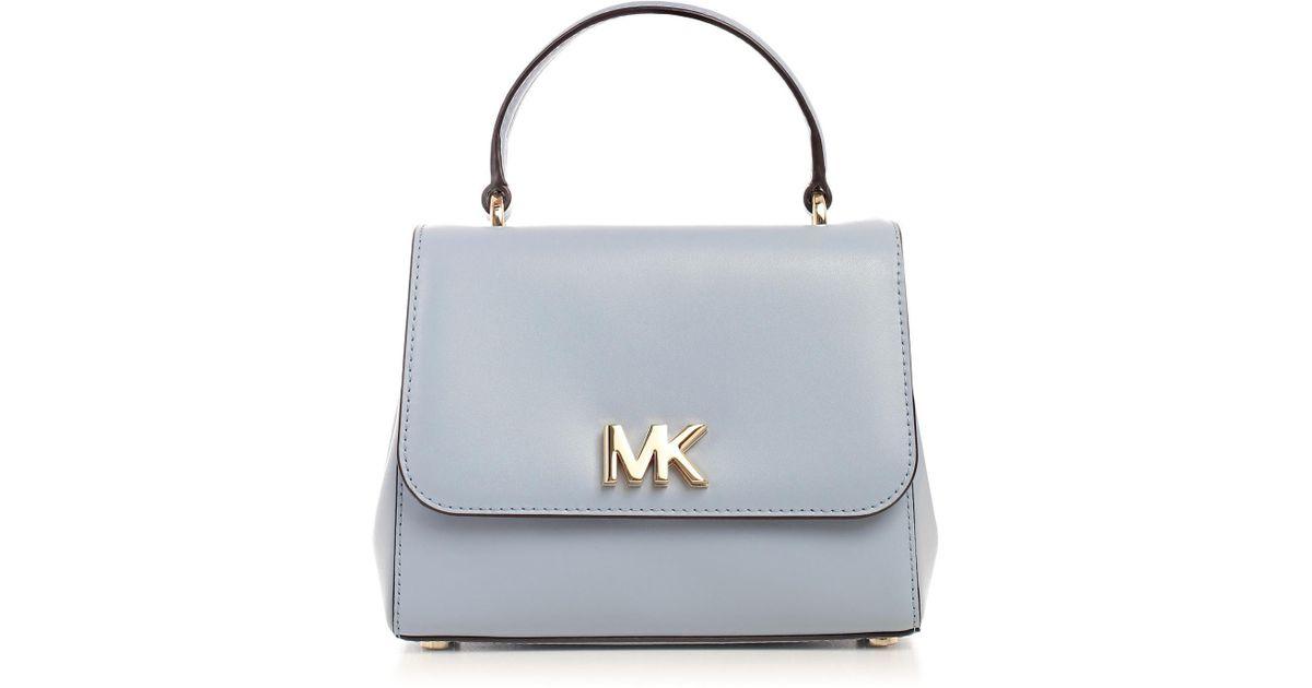 b9ceb8b377cf inexpensive ciara large saffiano leather satchel michael kors 87061 68b90   australia lyst michael michael kors mott mini satchel in blue c7aac c0a17