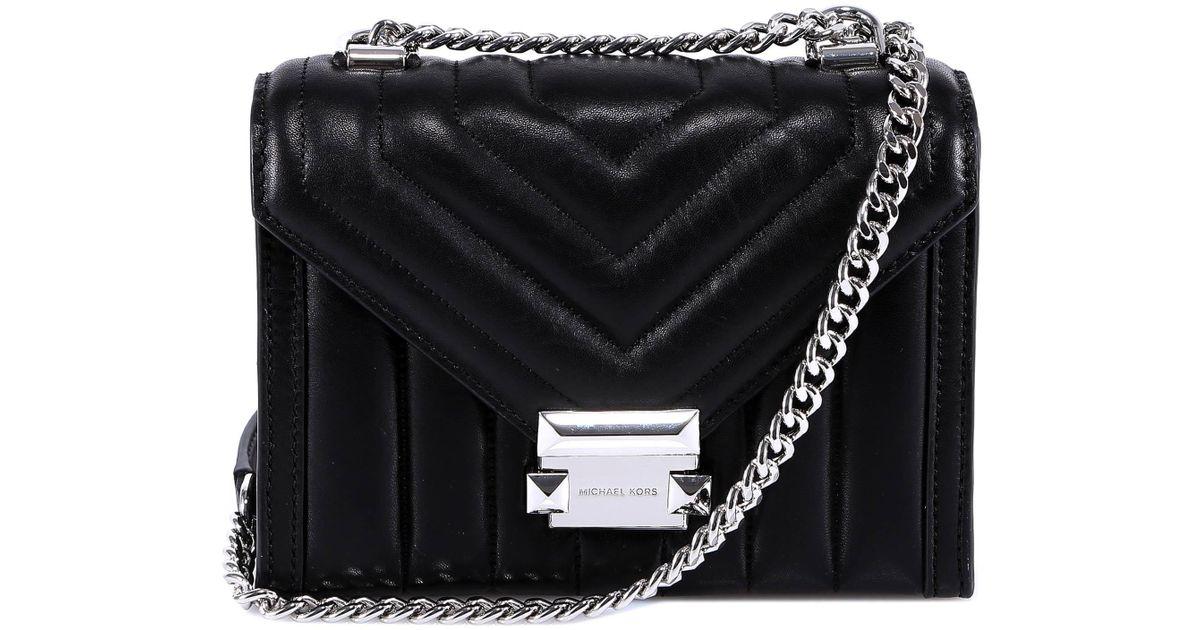 c9a8a0b8d06fba Lyst - MICHAEL Michael Kors Whitney Small Shoulder Bag in Black