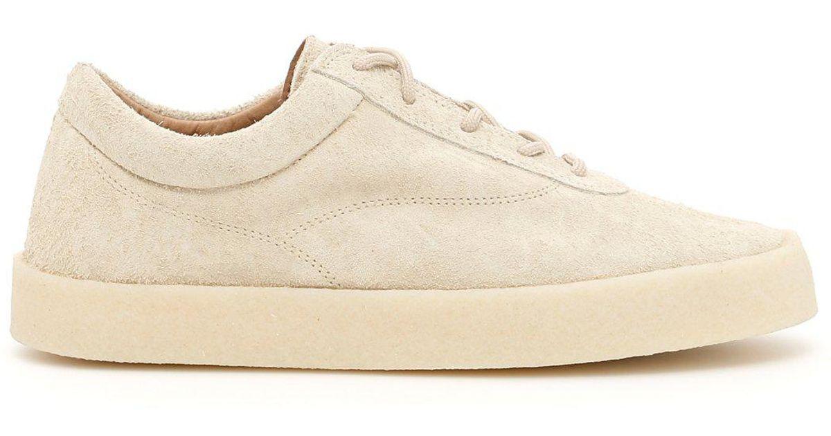 db979dd02 Lyst - Yeezy Season 6 Suede Sneakers in Natural for Men