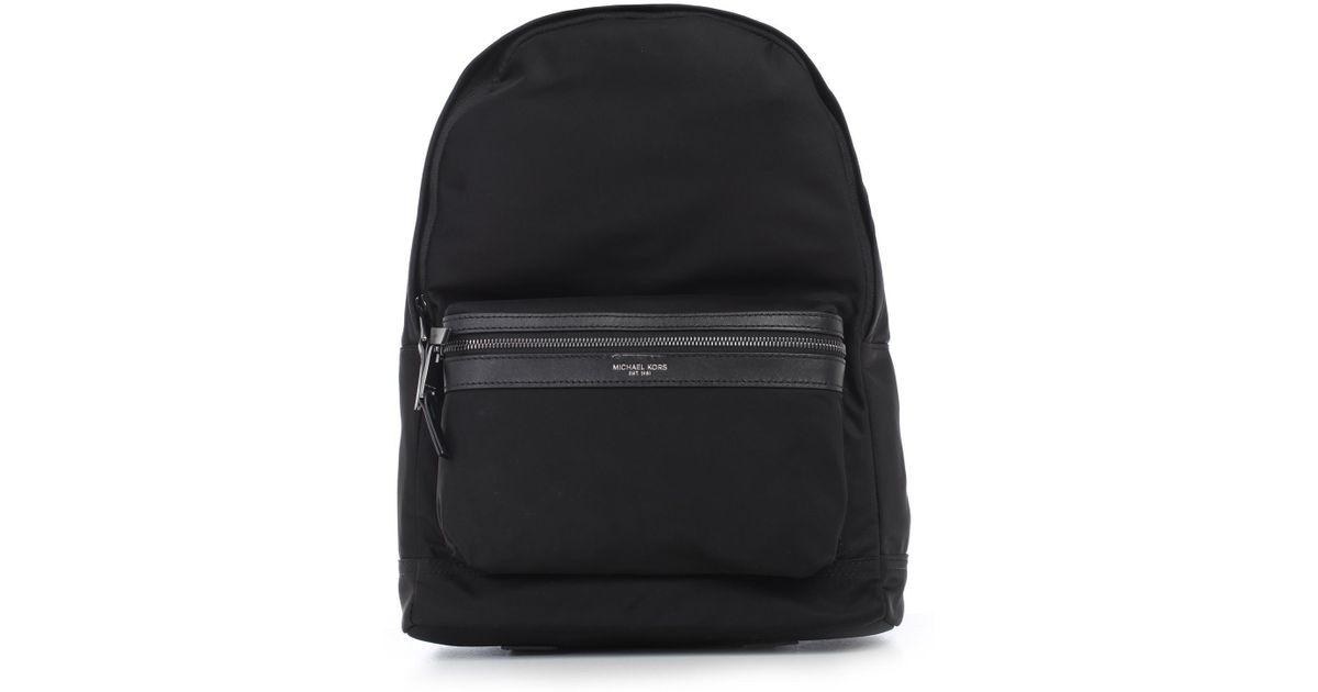 0411c4151d1c Lyst - Michael Kors Kent Zipped Backpack in Black for Men