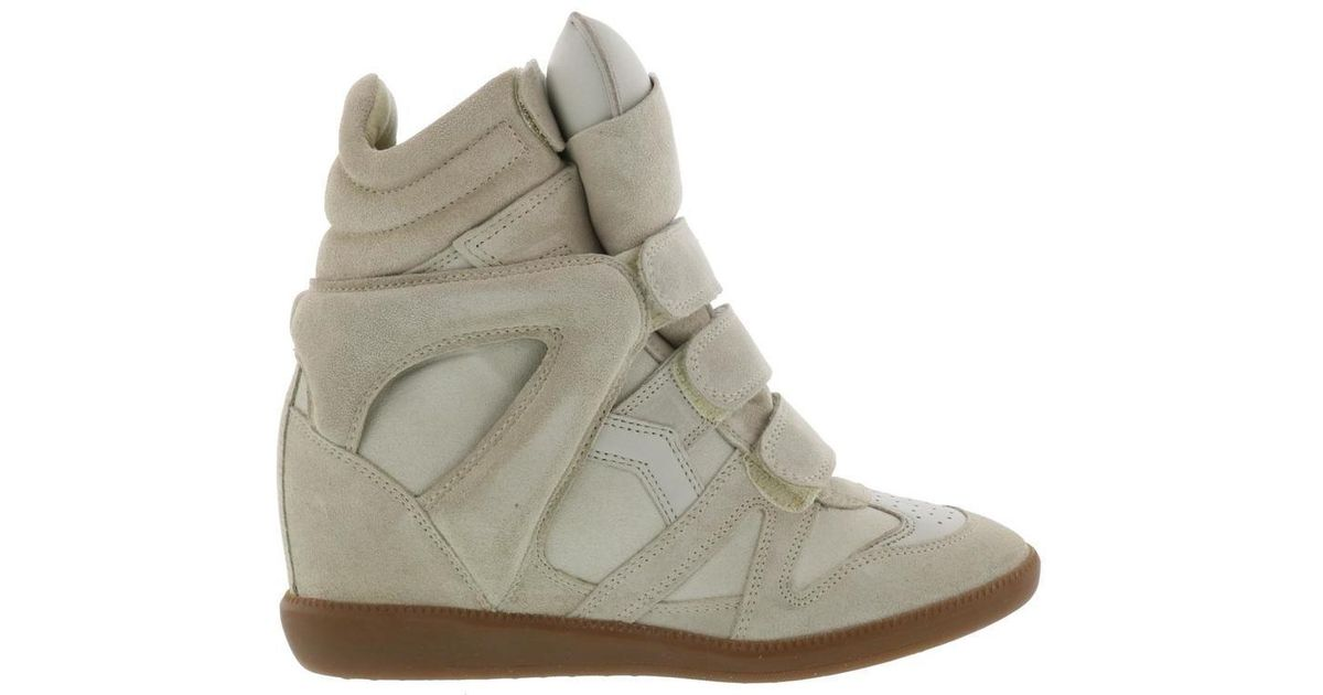 5b468692c7 Lyst - Isabel Marant Beckett Sneakers in Natural