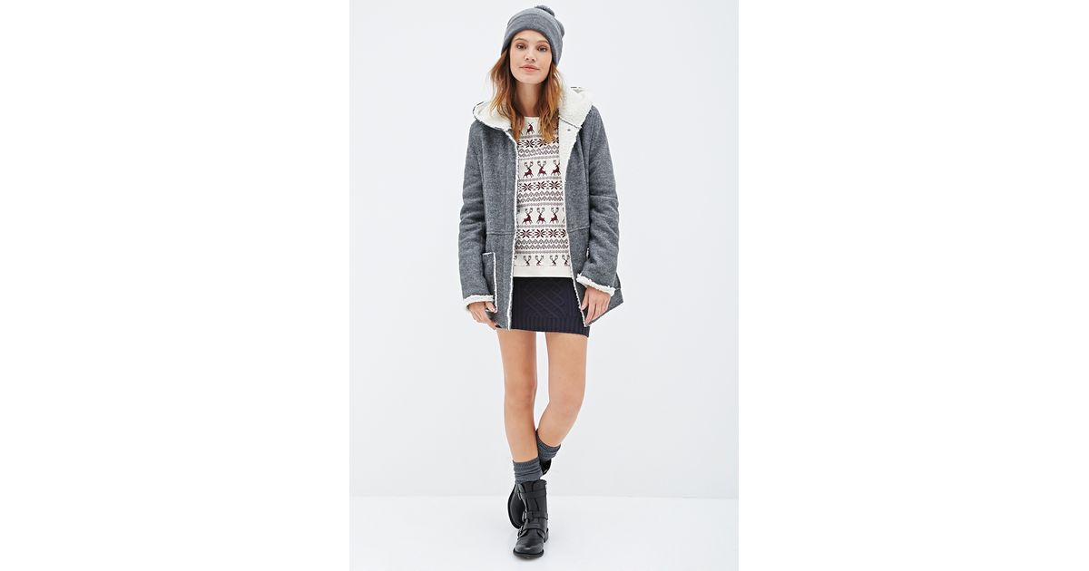 Forever 21 Fair Isle Deer Print Pullover You've Been Added To The ...
