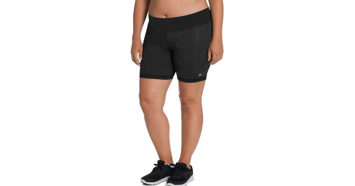 e203d12f2b1b Lyst - Champion Plus Absolute Shorts in Black