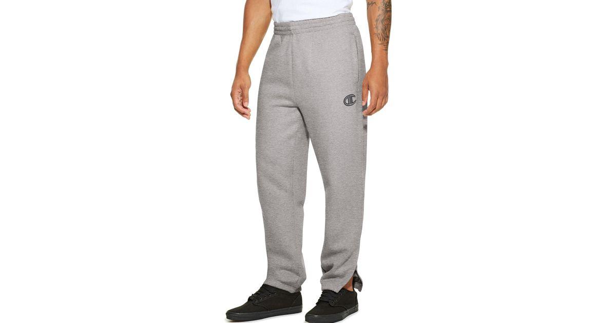 c78834e9326a Lyst - Champion Lifetm ® Super Fleece 2.0 Men s Pants in Gray for Men