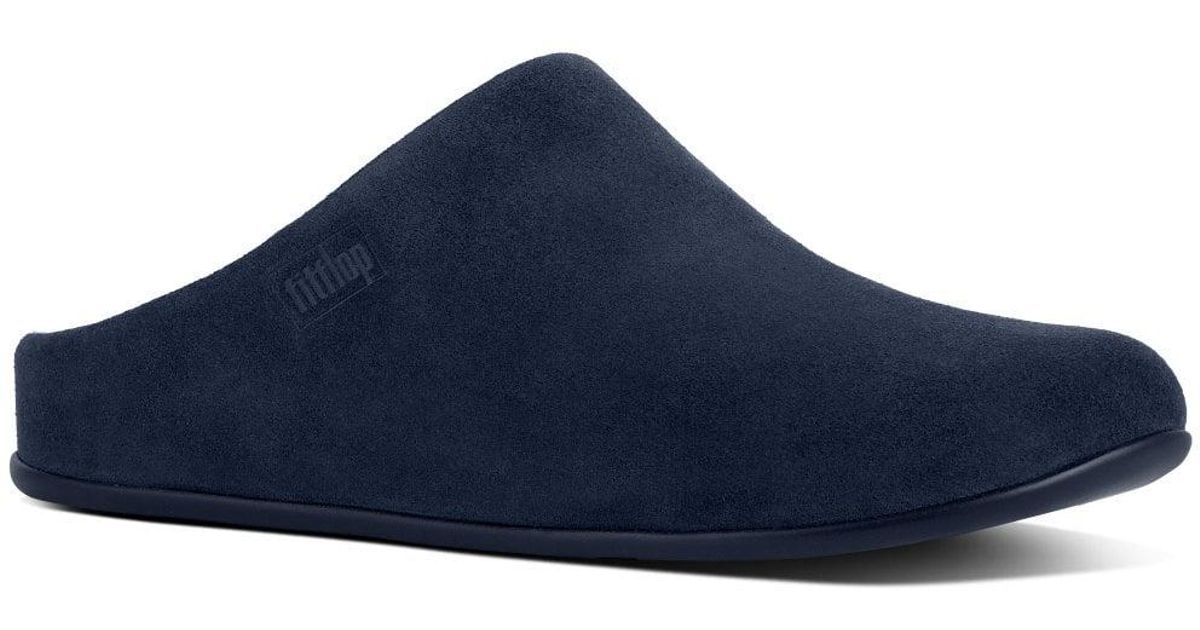 eb8e233a7 Lyst - Fitflop Chrissie Shearling Womens Slippers in Blue