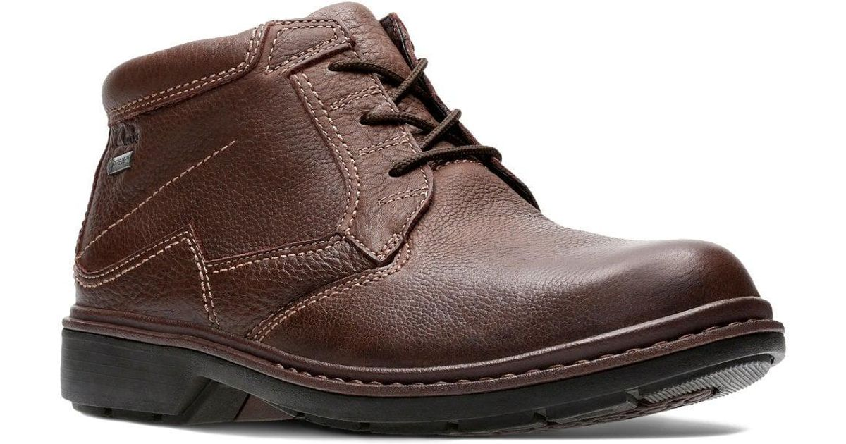af2c9a2695c0 Lyst - Clarks Rockie Hi Gtx Mens Waterproof Lace-up Boots in Brown for Men