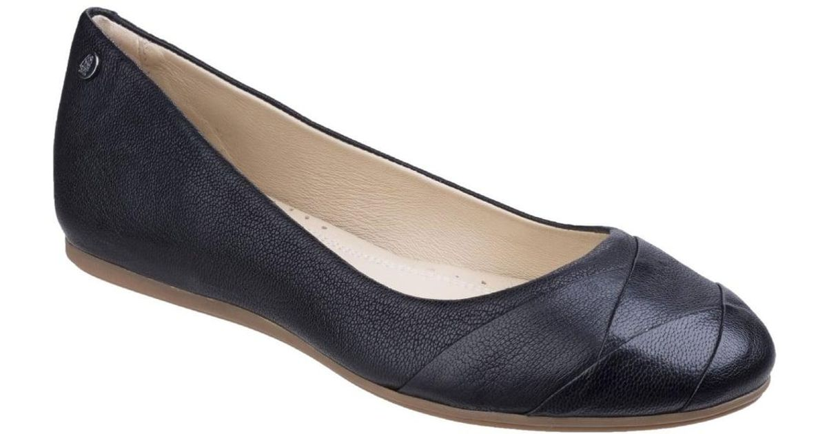 ce8619884d18 Lyst - Hush Puppies Heidi Heather Womens Flat Ballerina Shoes in Black