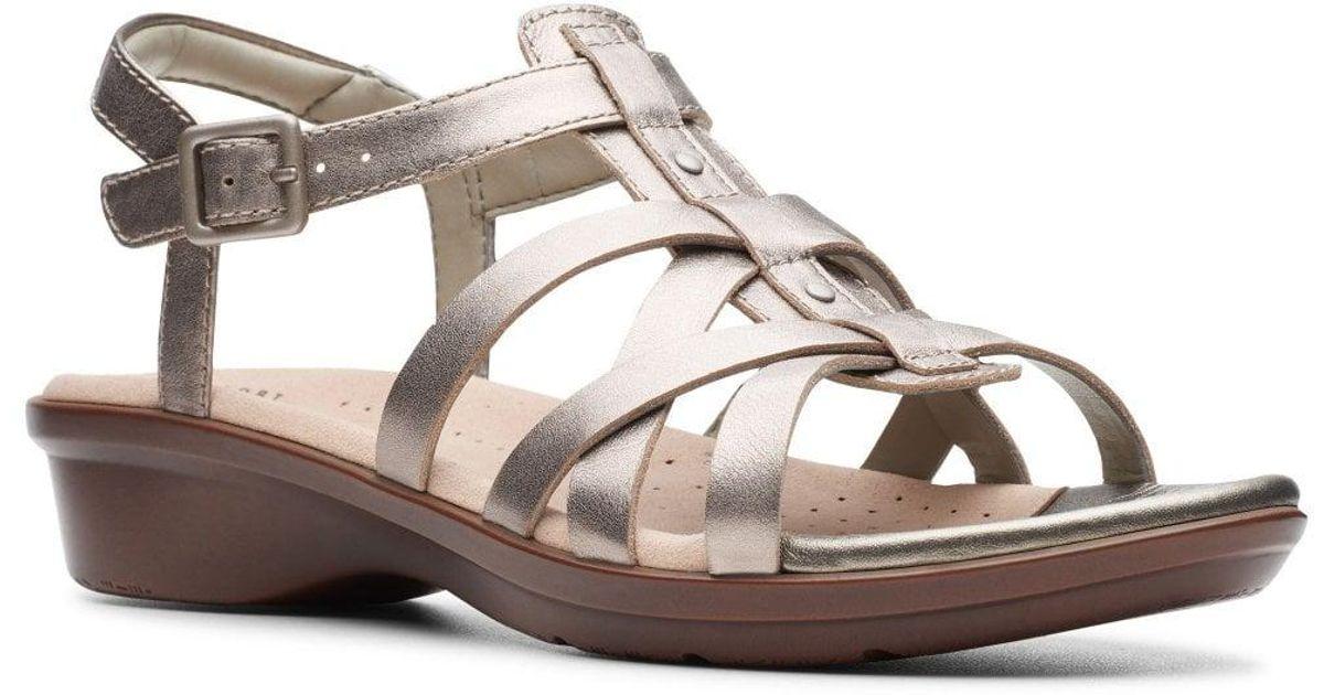 939112541b98 Lyst - Clarks Loomis Katey Womens Fisherman Sandals in Brown