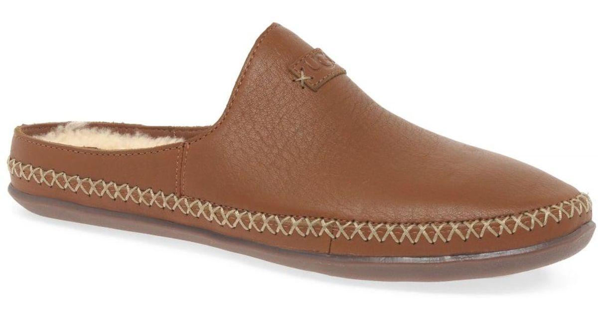 e37823b904eb UGG Tamara Womens Wool Lined Slippers in Brown - Lyst
