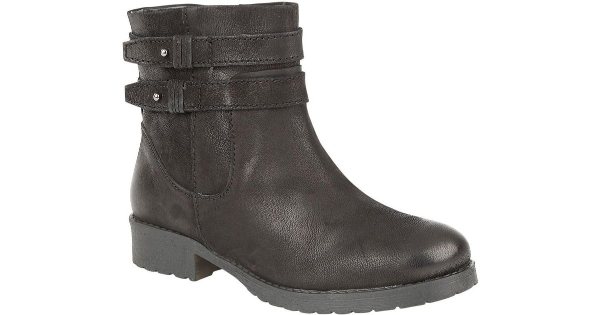 Lyst - Lotus Heckle Womens Casual Ankle Boots in Black 220777491b0