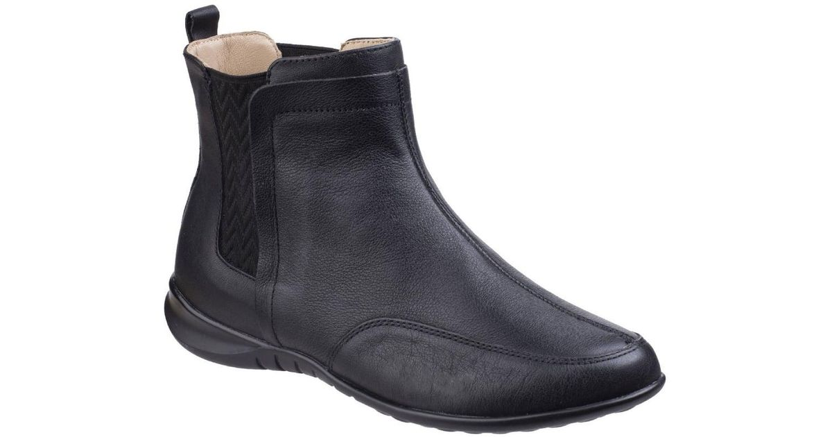c1d450458b3b Lyst - Hush Puppies Lidsi Bria Womens Ankle Boots in Black