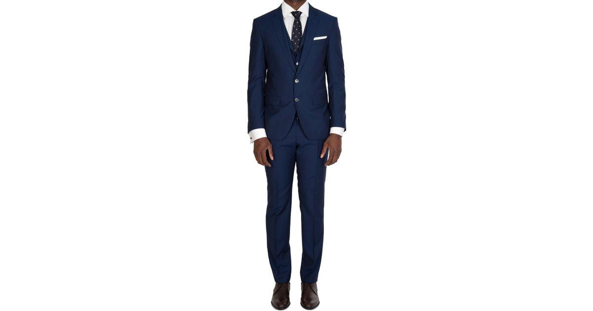 fac590ed BOSS Hugo Hutson5/gander3 We Suit Navy in Blue for Men - Lyst