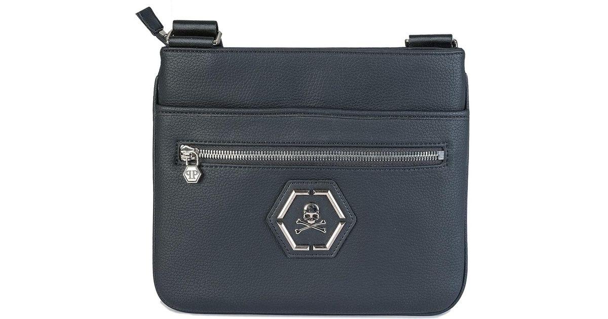 5af51b98ff Philipp Plein Morfeo Cross Body Bag in Black for Men - Lyst