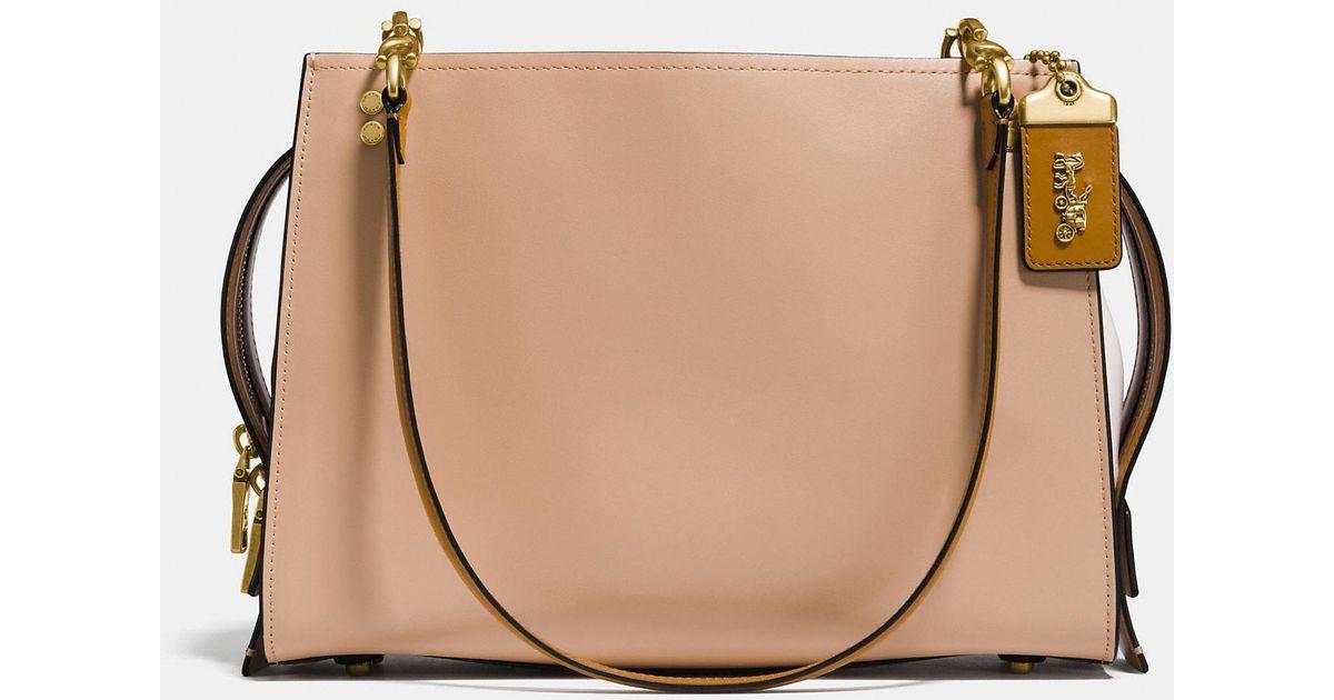 cebaa6382c9b COACH - Multicolor Rogue Shoulder Bag In Colorblock - Lyst