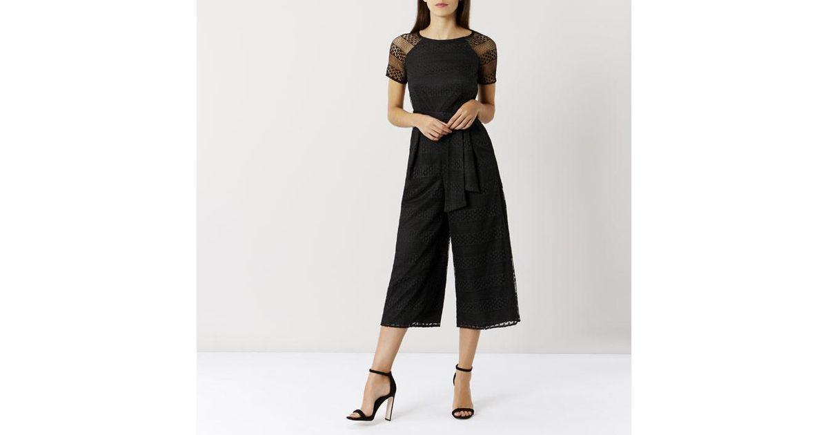 Discount Price Ivy Lace Jumpsuit - Black Coast Best Place Best Place Online I9G0zuLi2x