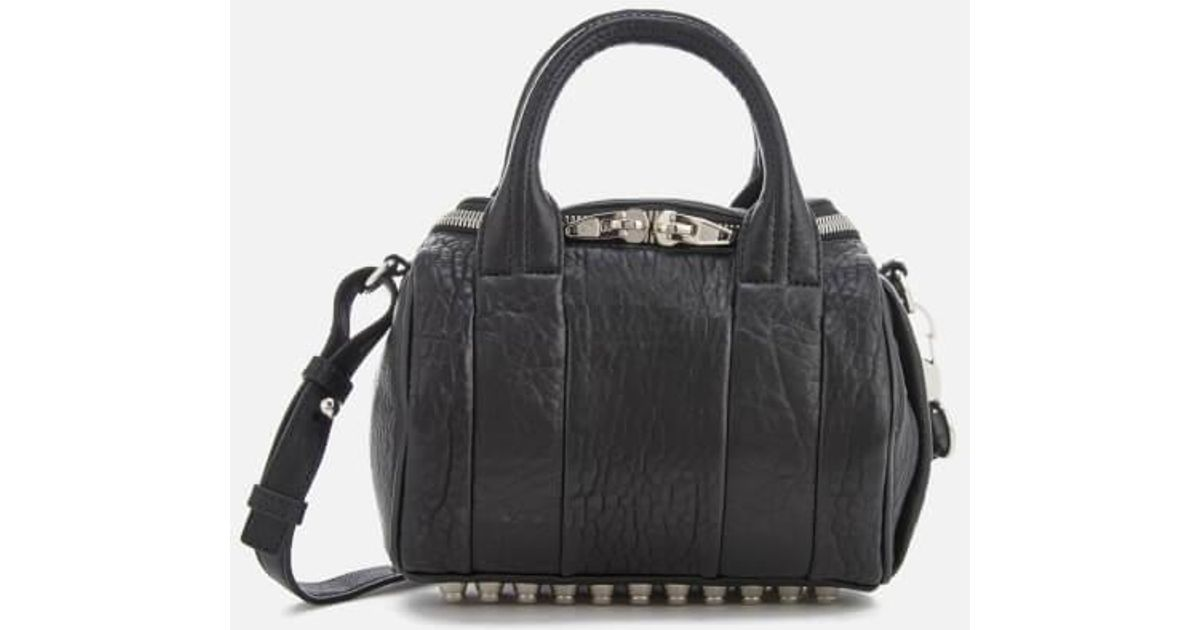 Alexander Wang Women's Mini Rockie Pebbled Leather Bag with Rhodium Studs Free Shipping Get Authentic Many Kinds Of For Sale vkXcO4QBqZ