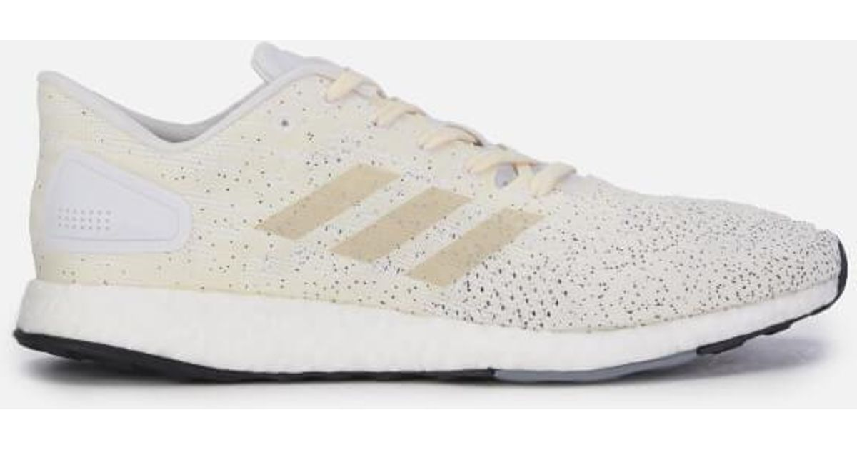 51d23681add6e Lyst - adidas Men s Pure Boost Dpr Trainers in White for Men