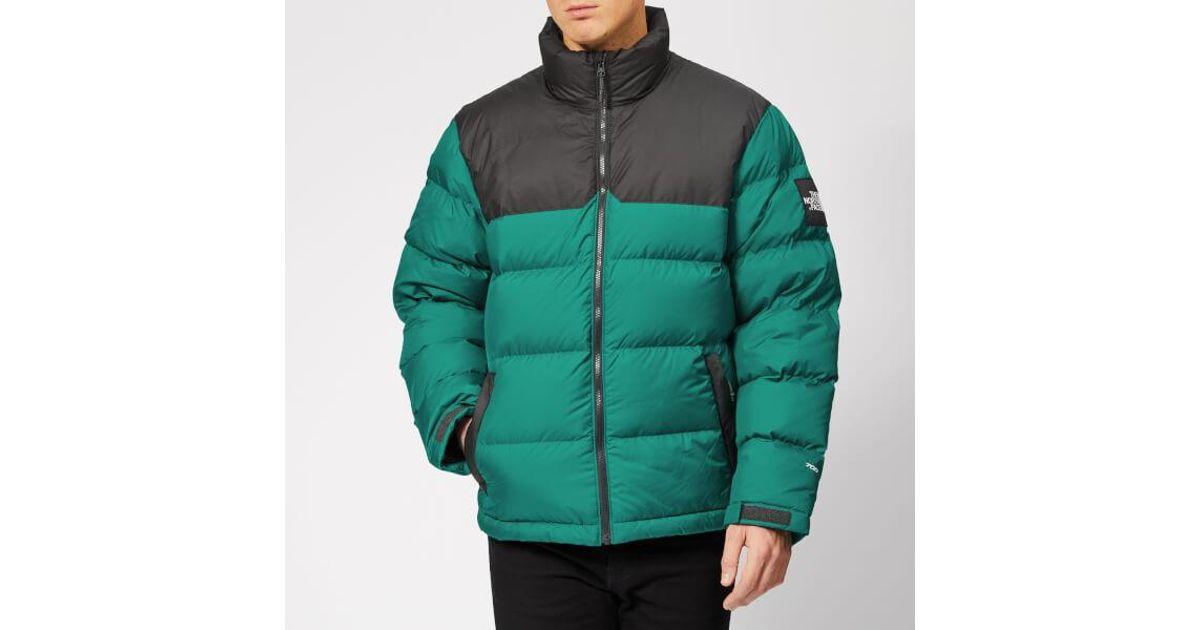 c6218b6225af Lyst - The North Face Men s 1992 Nuptse Jacket in Green for Men