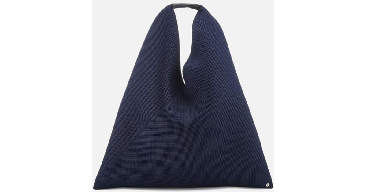 MM6 by Maison Martin Margiela Women s Net Fabric Japanese Bag in Blue - Lyst 3a07ecc5cf0