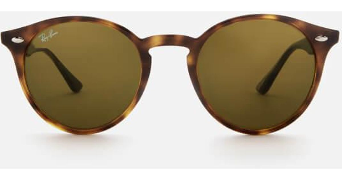Ray-Ban Rayban Men s Round Frame Sunglasses in Brown for Men - Lyst 5ffb9c9d158a