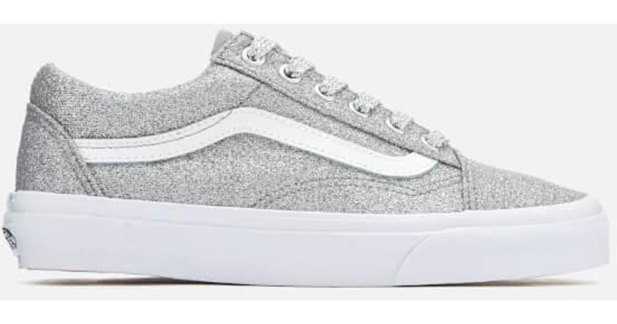 54140852185c Vans Women's Old Skool Lurex Glitter Trainers in Metallic - Lyst