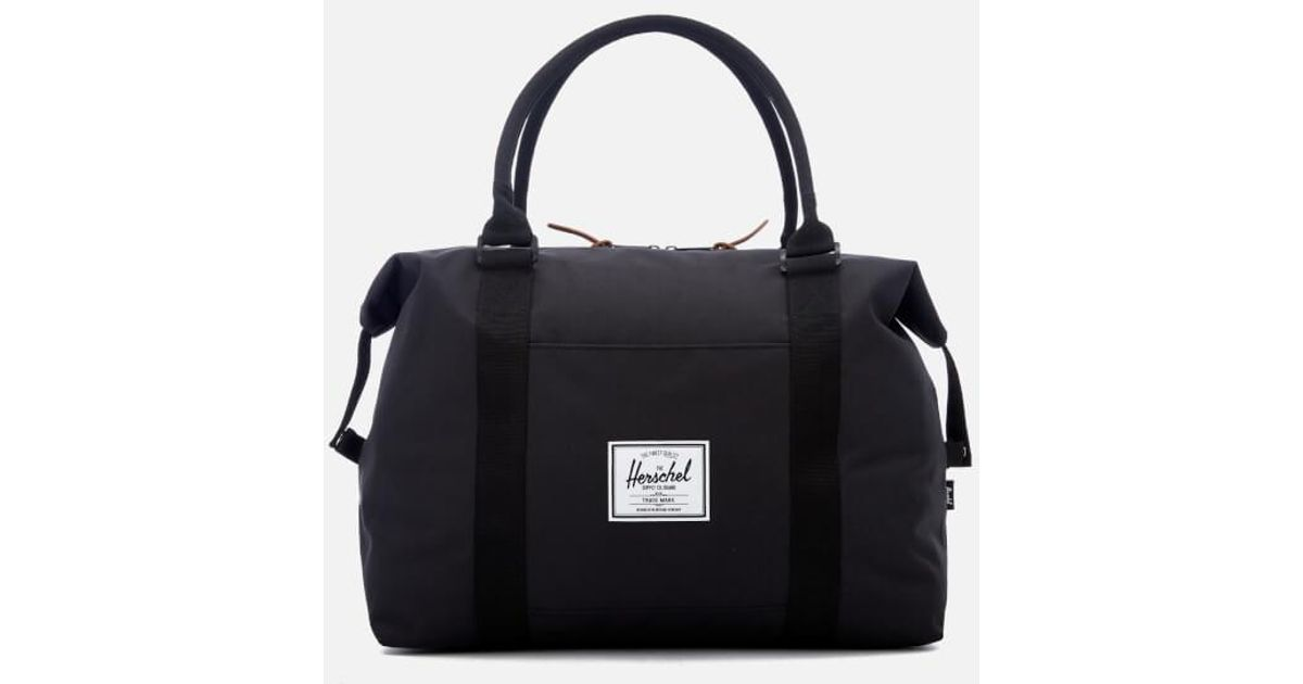 d4b0f6522866 Herschel Supply Co. Men s Strand Duffle Bag in Black for Men - Lyst