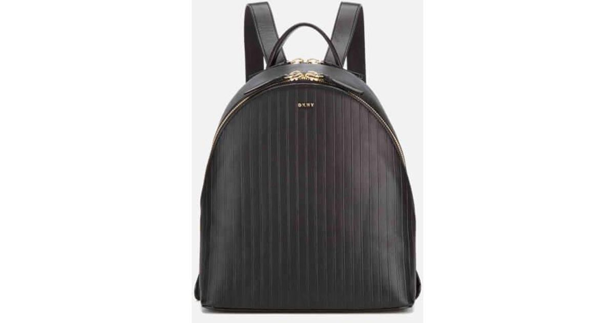 Dkny Women's Gansevoort Pinstripe Backpack in Black | Lyst : dkny quilted rucksack - Adamdwight.com