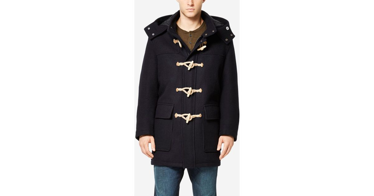 Cole haan   Fidelity Made In America Duffle Coat in Blue for Men ...